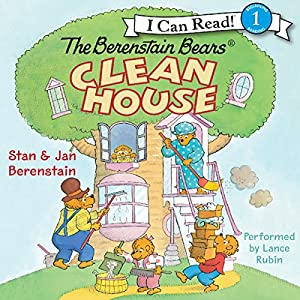 The Berenstain Bears Clean House Audiobook