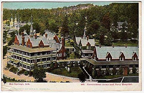 Postcard Army Navy Hospital~Hot Springs, Arkansas