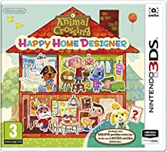 Animal Crossing: Happy Home Designer + 1 Tarjeta Amiibo