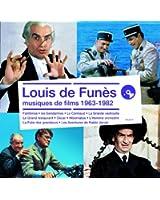 Louis de Funès, Musiques de Films 1963-1982 (4 CD)