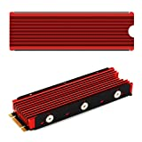 NVMe M.2 Heat Sink Cooler for 2280 M2 red