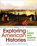 img - for Exploring American Histories, Volume 1: A Survey with Sources book / textbook / text book