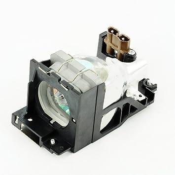 Projecteur haiwo TLPLV3de haute qualité Ampoule de projecteur de remplacement compatible avec boîtier pour Toshiba tlp-s10/S10d/s10u.