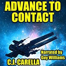Advance to Contact: Warp Marine Corps, Book 3 Audiobook by C.J. Carella Narrated by Guy Williams