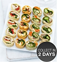 20 Party Mini Wrap Slices