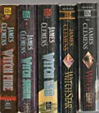 James Clemens' The Banned and The Banished Saga, Books 1-5 (Wit'ch Fire,Wit'ch Storm,Wit'ch War,Wit'ch Gate,Wit'ch Star)