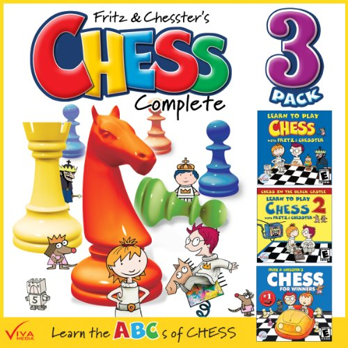 Learn To Play Chess With Fritz & Chesster: Chess Complete 3-Pack [Download] front-1060233