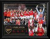 Arsenal Unbeaten Montage Framed Print