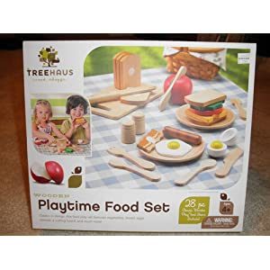 Treehaus Wood Playtime Food Set