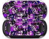 Sony PS Vita Skin Purple Graffiti