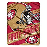 NFL San Francisco 49ers Reusable Tote and Throw Set