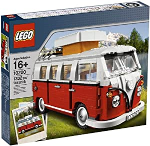 lego creator volkswagen t1 camper van 10220 toys games. Black Bedroom Furniture Sets. Home Design Ideas