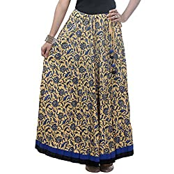 NIKA Cotton Printed Long Skirt