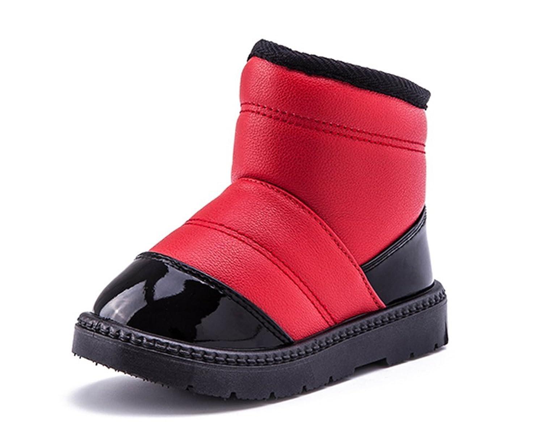 Fashion Baby Kinder Winter warm Anti-Rutsch Leder Stiefel snow boots/Schneestiefel Kinder-Schneeschuhe Jungen Stiefel Mädchenbaumwollstiefel Kinder warmen stiefel Schuhe online bestellen