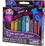 Elmer's 3D Washable Glitter Pens, Cla...