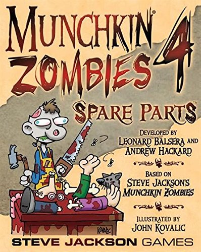 Munchkin Zombies 4 Spare Parts Game