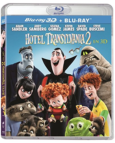 Hotel Transilvania 2 Blu-Ray 3d + D2 [Blu-ray]