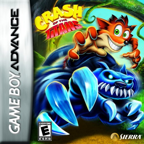 Crash of the Titans (Crash Bandicoot Gameboy Advance compare prices)