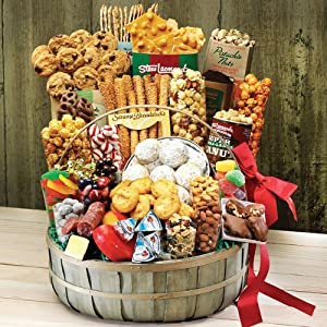 Stew Leonard's Gift Baskets offers a unique combination of variety and freshness that is worth the time to review. The fruit basket options are limited (only 6), but the variety of additional items available to accompany the gift baskets help make up for the lack of options.