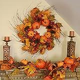 Fall Berry & Pumpkin 6' Garland