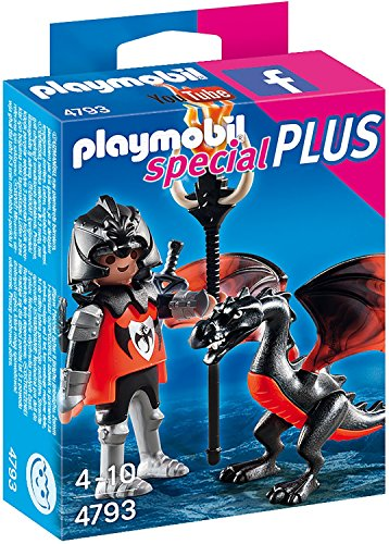 PLAYMOBIL Knight with Dragon Building Kit - 1