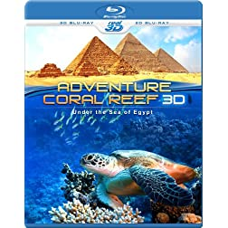 Adventure Coral Reef 3D - Under the Sea of Egypt (Blu-ray 3D & 2D Version) REGION FREE