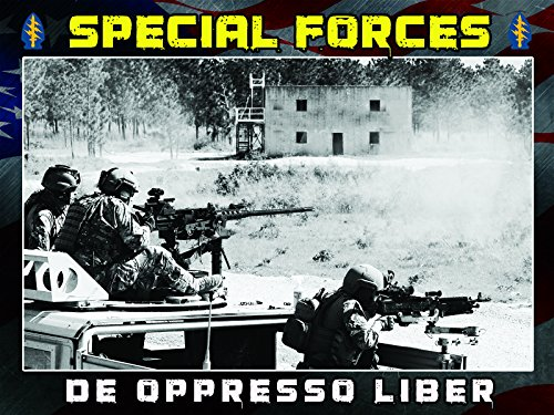 Special Forces Poster Special Ops Army Delta Force Green Beret 18X24