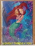 New Disney WonderGround Gallery Little Mermaid Ariel's Golden Wish by Martin Hsu POSTCARD
