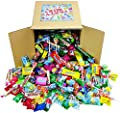 Assorted Candy Party Mix, Appx. 4 LB Bulk: Fire Balls, Airheads, Jawbusters, Laffy Taffys, Tootsie Rolls and Much More of Your Favorite Candy! by Assorted