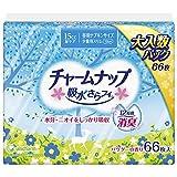 チャームナップ 吸水さらフィ 15cc 少量用 66枚 昼用ナプキンサイズ 19cm【軽い尿モレの方】