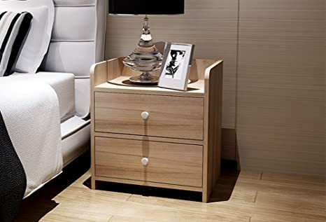 Jiangu, mesitas, mesita de noche moderna minimalista muebles multifunción, mini armarios, mesitas de noche