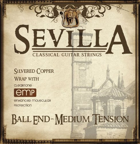 Cleartone Sevilla Classical Strings Ball End