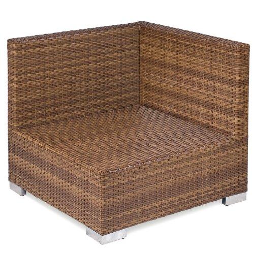 MBM 68.00.0346 Lounge Eckmodul Piccolino, tobacco