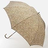 acceterrier 傘(軽量雨傘(小花)) 【ブラウン】