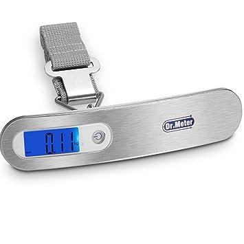 Dr.Meter ES-PS03 110lb/50kg Backlit LCD Display Electronic Balance Digital luggage Hanging Scale