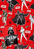 Star Wars - Gift Wrapping Paper [2 Sheets & 2 Tags]
