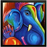 PPD Exclusive Framed Wall Art Paintings For Living Room And Bedroom. Frame Size (12 Inch X 12 Inch, (Wood, 30 Cm X 3 Cm X 30 Cm, Special Effect Textured)