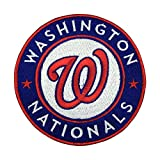 Washington Nationals Patch Embroidered MLB Sport Iron On Sew On Patches