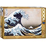 Eurographics Great Wave Kanagawa by Hokusai 1000-Piece Puzzle