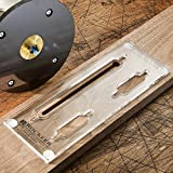 Rockler Picture-Hanging Keyhole Template