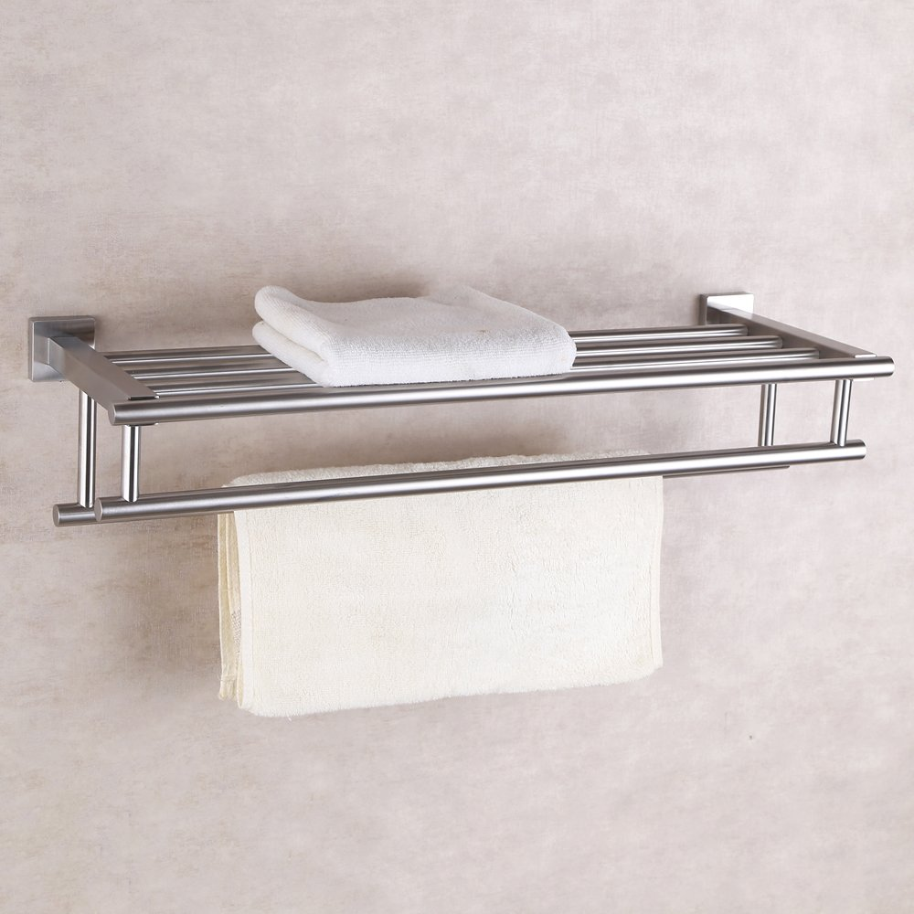 Wall Mounted Towel Rack. Wall Mounted Towel Racks And Bar Rack ...