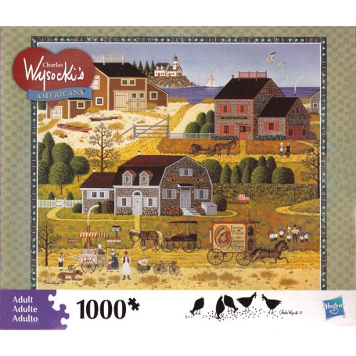 Charles Wysocki Salty Witch Bay 1000 Piece Jigsaw Puzzle
