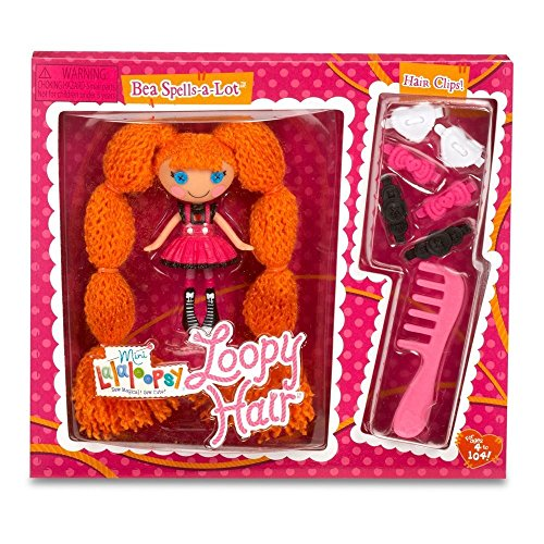 Lalaloopsy Mini Loopy Hair Bea Spells-A-Lot Doll