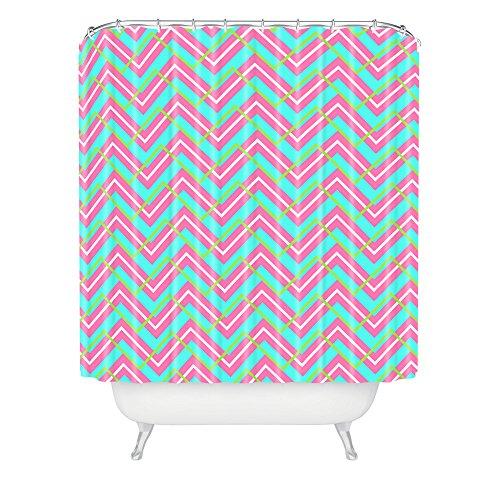 Deny Designs Caroline Okun Montauk Shower Curtain front-397355