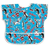 Bumkins Waterproof Junior Bib, Dr. Seuss Cat In The Hat