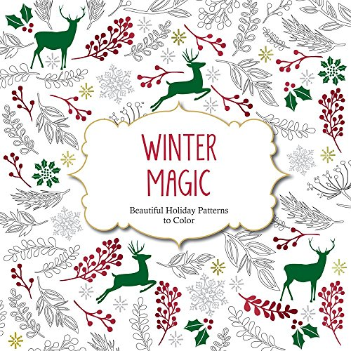 Winter Magic: Beautiful Holiday Patterns Coloring Book for Adults (Color Magic) PDF