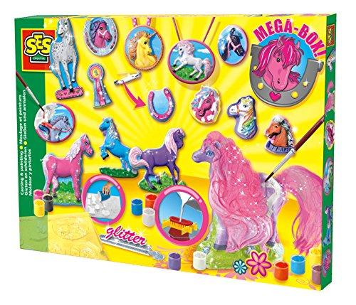 kit-de-creation-figurines-platre-chevaux-super-set-platre-et-latex-moule-peinture-pincea