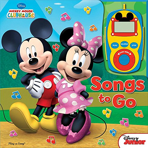 Digital Music Player Mickey & Minnie Clubhouse : Songs to Go - 1