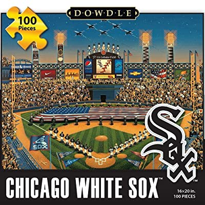 Jigsaw Puzzle - Chicago White Sox 100 Pc By Dowdle Folk Art