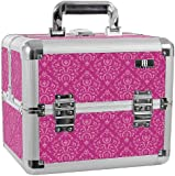 Professional Beauty Case Organizer Mombasa Imperial Pink Manicure Tools Storage Box